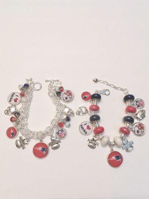 New England Patriots Charm Bracelets. for Sale in Berenda, CA
