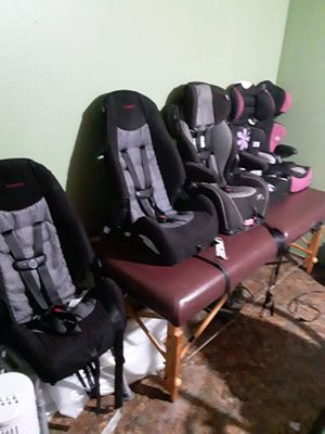 Car seats msg me which one you want and we will negotiate for Sale in Edinburg, TX