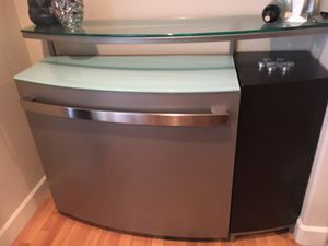 Dania wengewood freestanding bar for Sale in Portland, OR