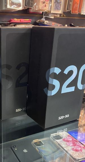 Samsung Galaxy S20+ 5G(Unlocked) *WE CARRY ALL phones) for Sale in Rialto, CA