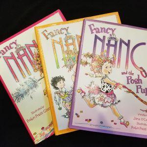 3 Fancy Nancy Hardback Books for Sale in Visalia, CA