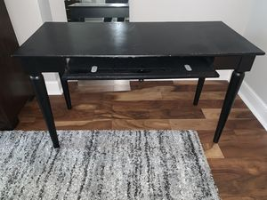 Black Desk for Sale in St. Louis, MO
