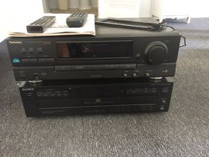 Technics Stereo Received for Sale in Chula Vista, CA