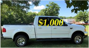 ✅$1,OOO For sale URGENT 2002 Ford F150 Clean title. Everything works well inside and out ,Engine V8, Runs And Drives Great With No Issues! ✅ for Sale in Billings, MT