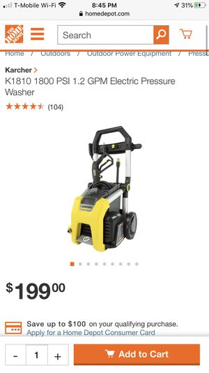 Karcher Pressure Washer for Sale in Lawndale, CA