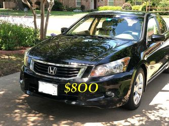 ✅💲8OO Urgently Selling By Owner 2OO9 💚 Honda Accord V6 EX-L Comfortable fully loaded.Clean tittle!!✅ for Sale in Washington,  DC
