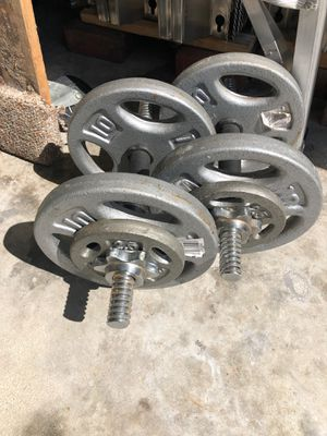 Dumbbells 27 pounds ( a pair) for Sale in Orlando, FL
