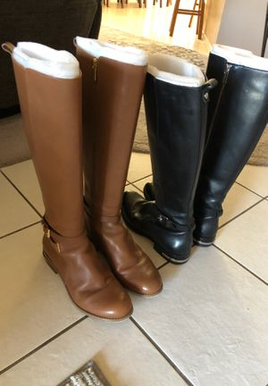 Michael Korda boots excellent condition size 9 1/2 $50 each pair for Sale in Kingsburg, CA