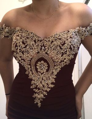 Off-the-Shoulder Long Prom Dress for Sale in Santa Ana, CA
