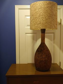 Mid Century Cork Lamp for Sale in Bothell,  WA