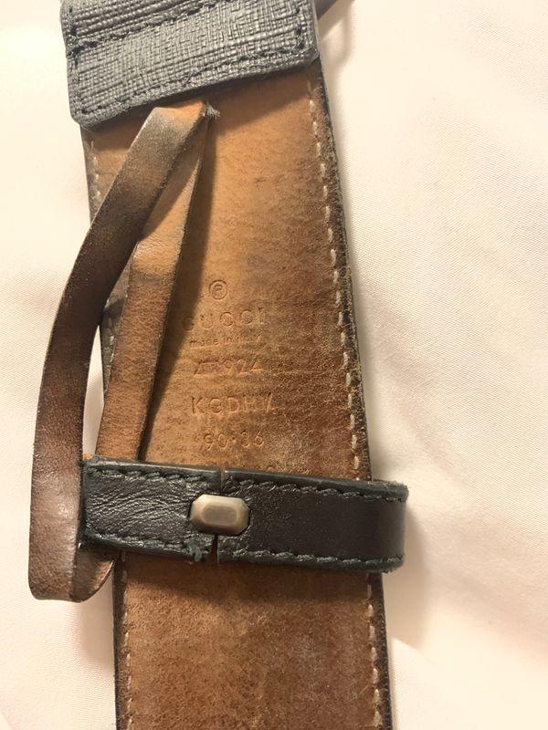 Gucci belt 90cm