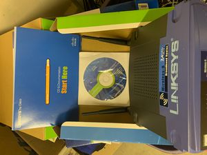 Linksys Broadband router... wireless G 2.4 GHz 54 mbps for Sale in Tucson, AZ