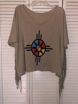Fringe top medium for Sale in Boulder, CO
