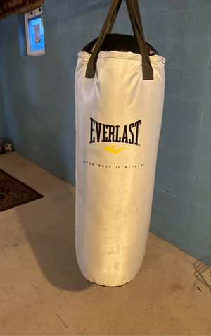 Everlast punching bag for Sale in Galloway, OH