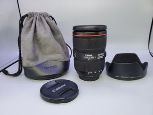 Canon ef 24-105mm f4L IS II (READ) for Sale in Glendale Heights, IL