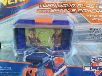 Nerf N-Strike Mission App Tactical Rail Mount Battle Camera for Sale in Pawtucket,  RI