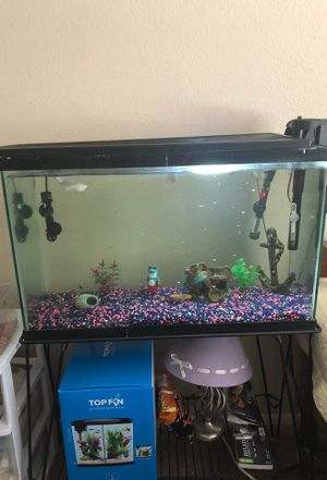 20gallon fish tank for Sale in Glendale, AZ