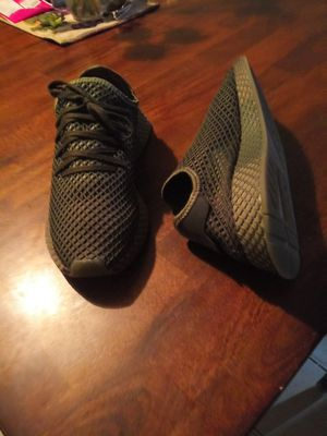 NEW. NUEVOS. Size 10 men. Size 11.5 women. Adidas Deerupt running/fashion. TRADE or cash. Intercambio o cash. Trade for shoes or beats headphones. for Sale in Phoenix, AZ
