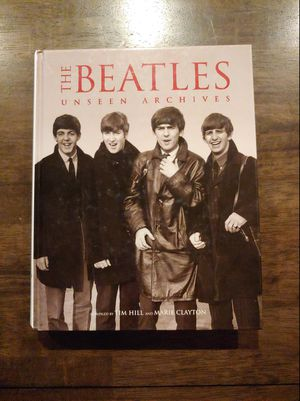 """""""THE BEATLES, UNSEEN ARCHIVES"""" BOOK for Sale in Glendale, AZ"""