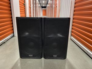 QSC K12 SPEAKERS/CARRYING BAGS for Sale in Whittier, CA