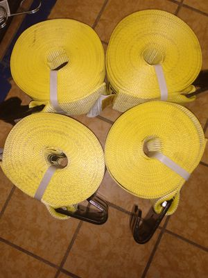 Ancra 5400 lbs safety winch straps 43785-10-30 for Sale in Valparaiso, IN