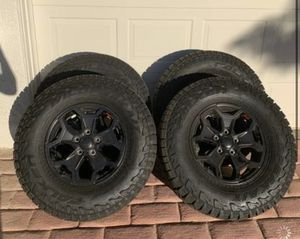 Falken tires off of a brand new 2020 Jeep Gladiator for Sale in Las Vegas, NV