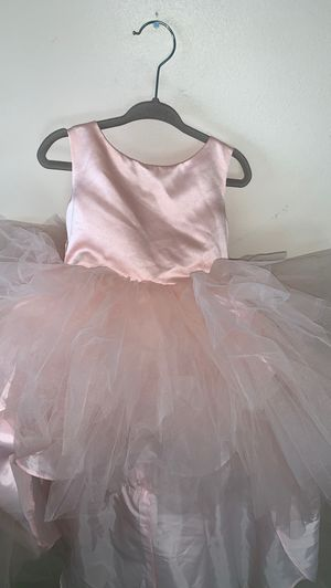 2t, flower girl dress, formal dress, baby dress, birthday dress, princess dress, pink tulle for Sale in Los Angeles, CA