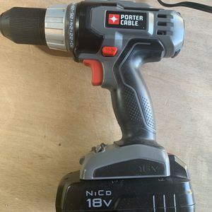 Porter Cable 18V Drill Charger And Battery for Sale in Newport News, VA