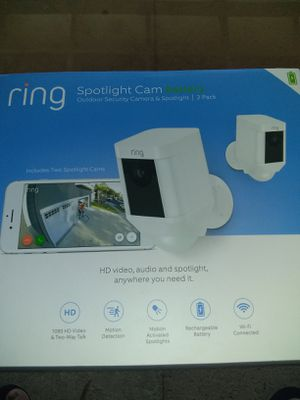 Ring spotlight camera battery 2 pack for Sale in Jurupa Valley, CA