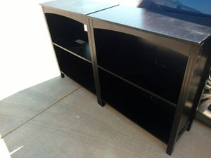 Two small bookshelves for Sale in Tempe, AZ