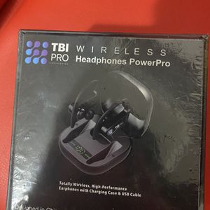TBI WIRELESS HEADPHONES POWER PRO for Sale in Milltown, NJ
