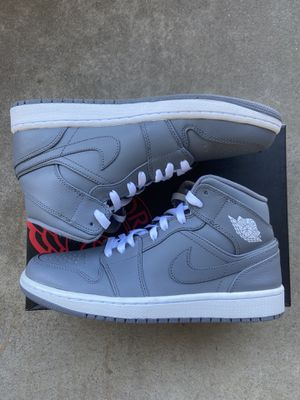 Jordan 1 mid cool grey for Sale in Quincy, IL