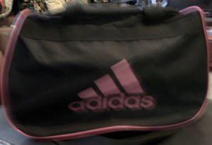 Adidas gym travel bag purse pink black like new for Sale in Phoenix, AZ