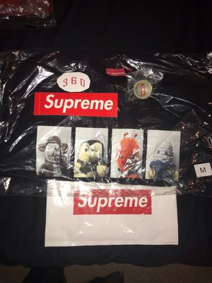 Supreme Mike Kelley Ahh Youth Crewneck Black (M) for Sale in Austell, GA