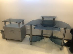 Desk and printer stand for Sale in Orland Park, IL