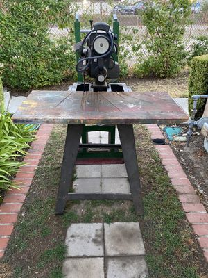 Circular Saw with stand for Sale in Covina, CA