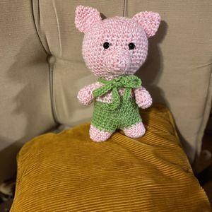 Little Hand Crochet Pig for Sale in Mechanicsville, MD