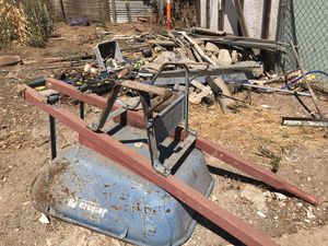 Free scrap metal some are new from Home Depot for Sale in Riverside, CA