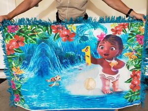 Baby moana bday decoration for Sale in Kissimmee, FL