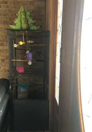 Large metal bird cage for Sale in Mebane, NC