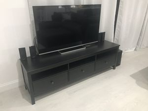 Black/brown TV Unit for Sale in Lake Worth, FL