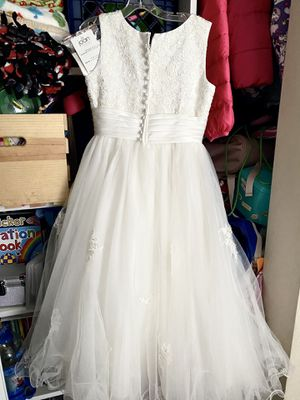 Flower Girl Dress or First Communion Dress (size 7) kids for Sale in Long Beach, CA