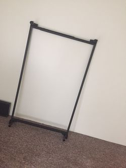 Brand new twin bed rails only used for 2 weeks for Sale in Galesburg,  IL