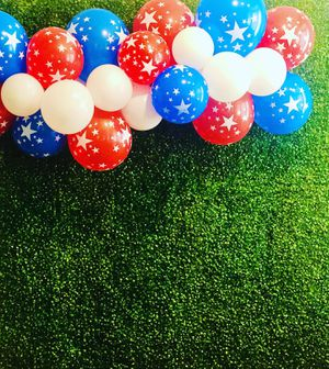 4ft Balloon Bouquet Fourth of July for Sale in Houston, TX