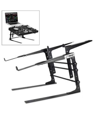 Pyle Portable Dual Laptop Stand - Universal Standing Table with Adjustable Height, Ergonomic Design & Anti-Slip for Sale in Phoenix, AZ