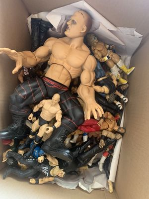 WWE classic action figures / toy dolls for Sale in Victorville, CA