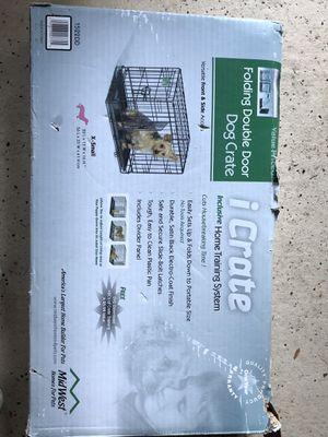 Dog/Cat X-small double door crate new in box for Sale in Annandale, VA