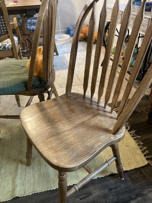 Wooden chairs total of three for Sale in Fresno, CA