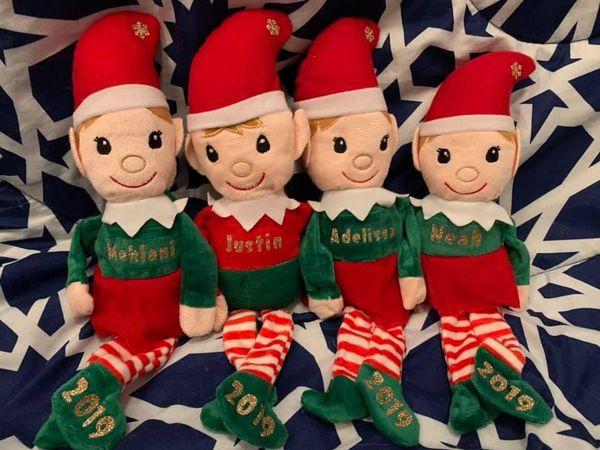 Personalized Plush Elves