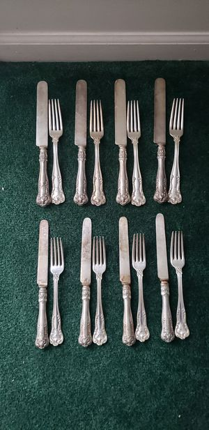 Vintage Gorham electroplated silverware engraved with R for Sale in Aberdeen, MD